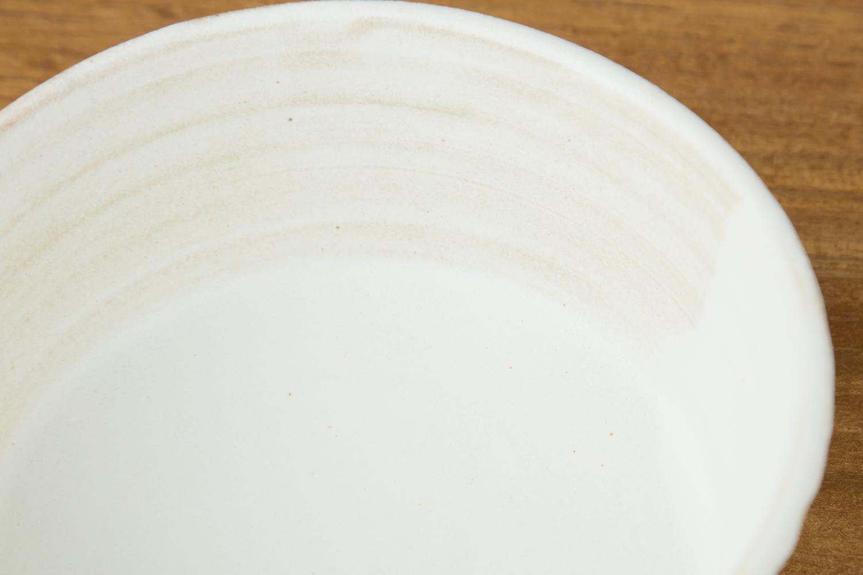 家族の時間に益子焼きのKinariしのぎ「サラダボウル」