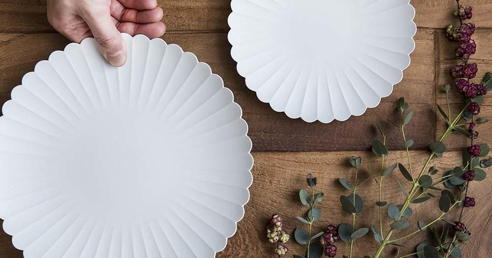 洗練された印象を与える磁器 TYパレスプレート 取り皿