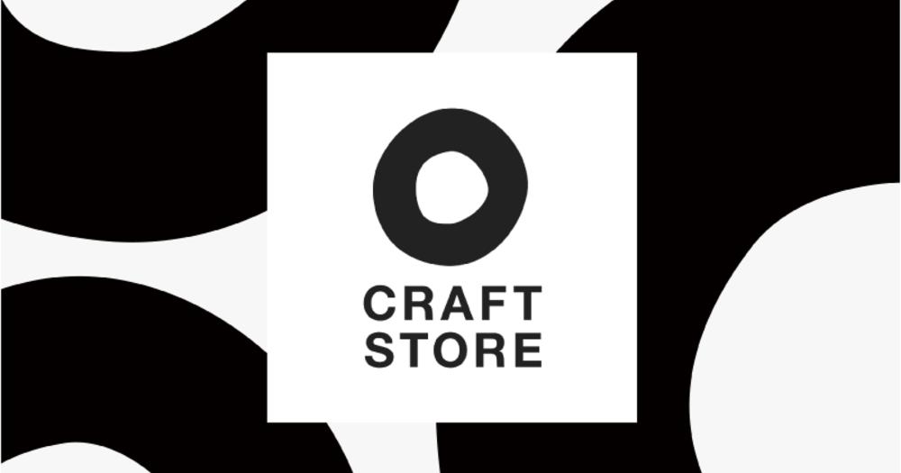 CRAFT STOREの新しいロゴができあがりました。