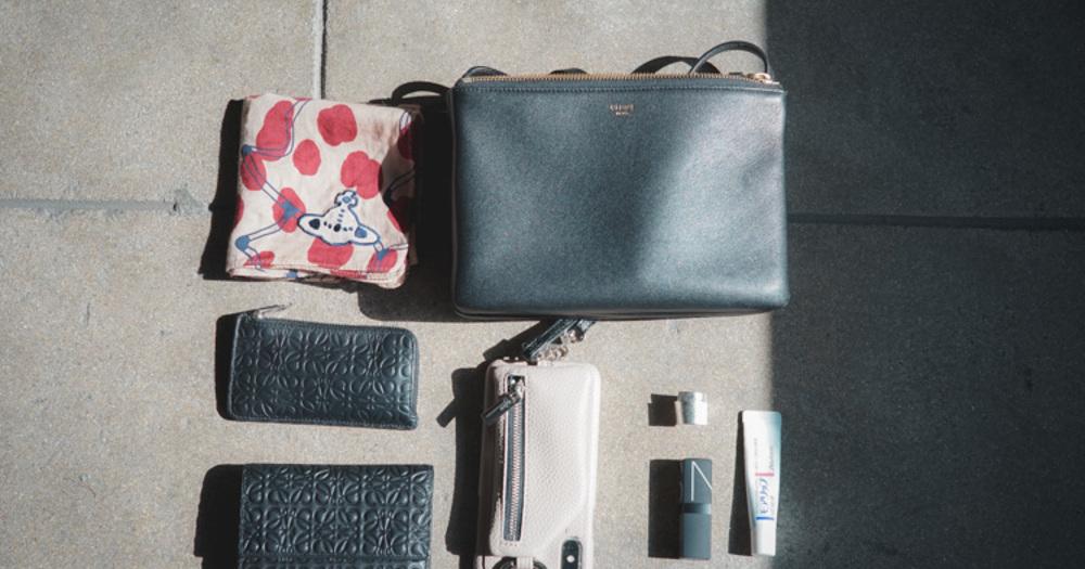 ミニマルでシンプル。思い出を一緒に持ち歩く「eni」デザイナー Yukiさんのカバンの中身