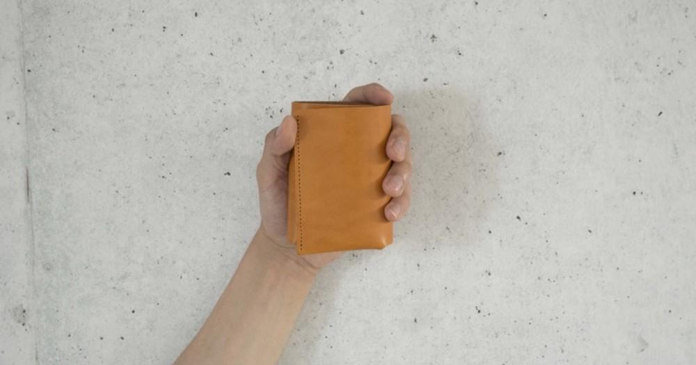 コンパクトで機能性のある小さい財布