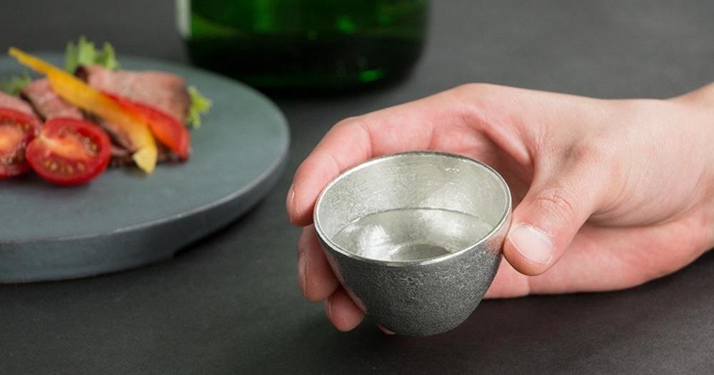 錫のおちょこ(ぐい呑み)で日本酒を極上に