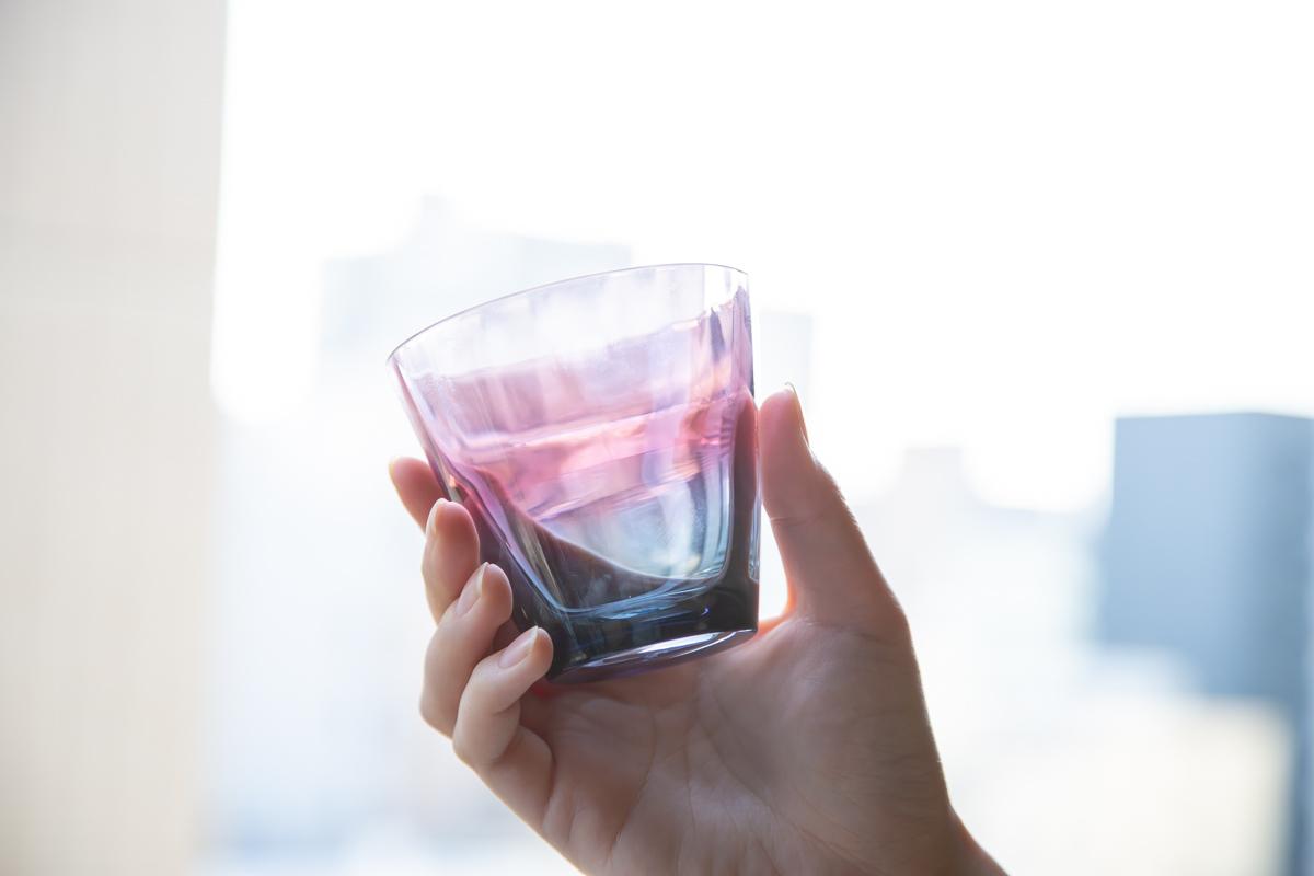 普段使いや贈り物におすすめ ガラス素材のビコロック ビコタンブラー