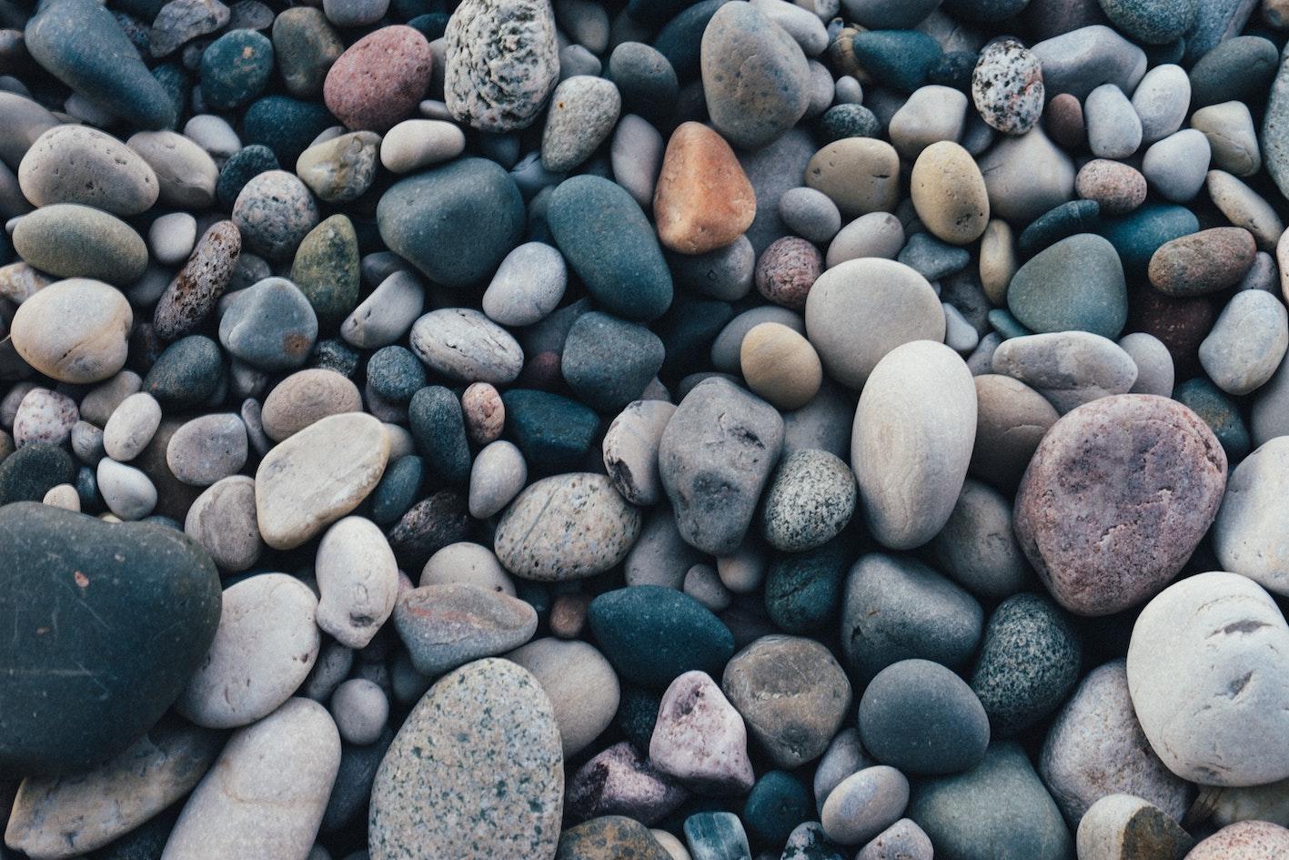 歯固めの石