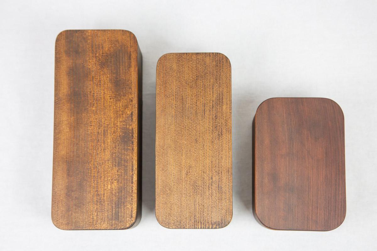 3種類のお弁当箱
