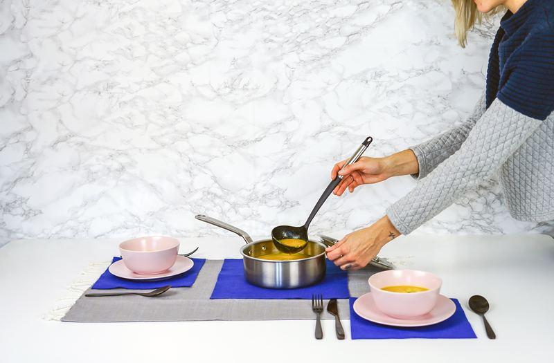料理とカトラリー