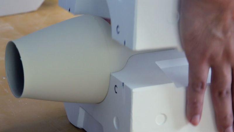 陶磁器の制作風景