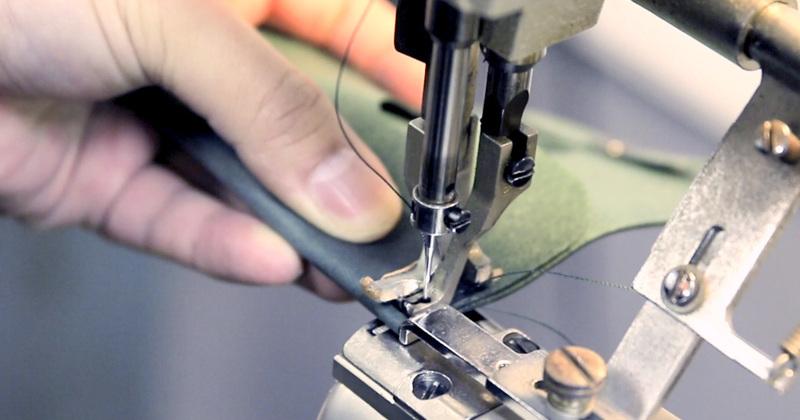 機能性財布縫い寄り