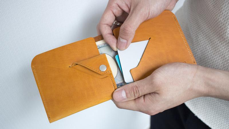 機能性財布カード