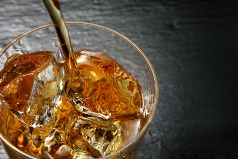 ウイスキーと氷