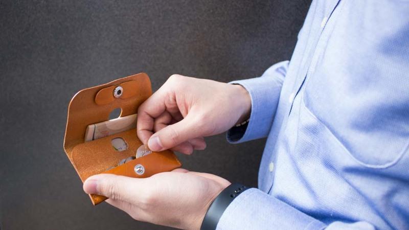 ファブリックミニ財布