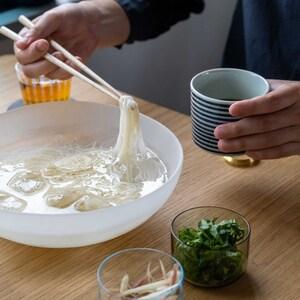 ガラスで涼む素麺セット