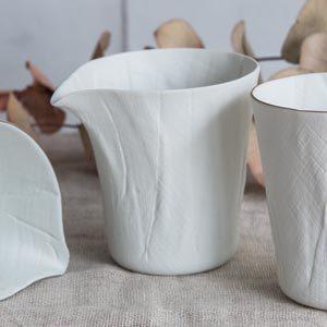 ceramic mimic fabric 片口