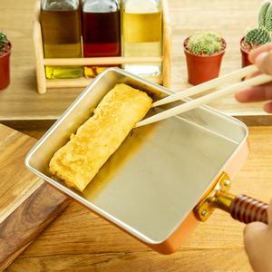 銅製玉子焼きフライパン