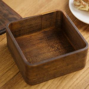 うるしの弁当箱 (正方形)