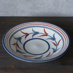 陶眞窯 赤絵皿