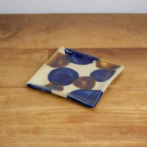 土工房 陶糸 四角皿