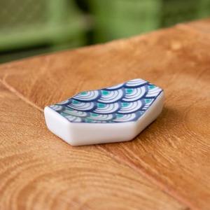 石丸陶芸 青海波 箸置